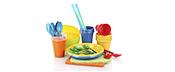Пластиковий посуд для сервірування