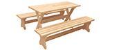 Деревянная столовая мебель