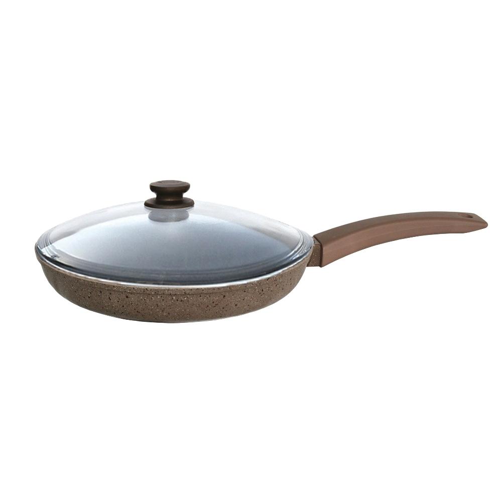 Сковорода с крышкой Биол Оптима 26047ПС, 26 см