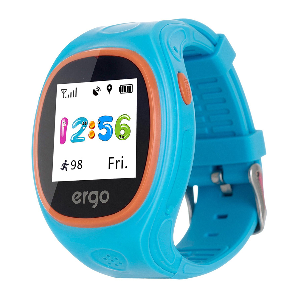Дитячий годинник Ergo з GPS трекером Tracker Junior Color J010 ... d14fbad5e4b31
