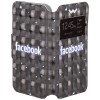 "Чехол Universal Book Cover 3D Facebook 4-4,5"" – фото 4"