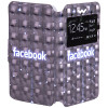 Чехол Universal Book Cover 3D Facebook 5,0-5,5 – фото 2