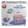 Столик для ухода за малышом One Two Fun My Baby`s Wooden Station – фото 2
