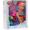 Пупс One Two Fun My Baby's Beach Set 894394 красный – фото 4