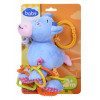 Игрушка плюшевая One Two Fun My soft toys rattle Голубой слоник – фото 4