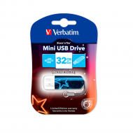 Флешка Verbatim Store 'n' Go Mini Neon Blue 32GB