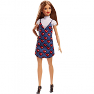 Кукла Mattel Fashionistas Doll 82 Wear Your Heart Petite