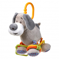 Игрушка плюшевая One Two Fun My soft toys rattle