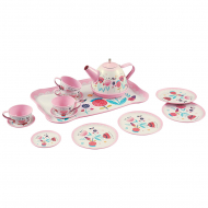 Чайный набор One Two Fun Tin Tea Set, розовый