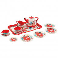 Чайный набор One Two Fun Tin Tea Set, красный