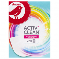 Салфетки Auchan Active Clean, 20 шт.