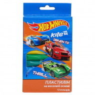 Пластилин Kite «Hot Wheels» (12 шт)