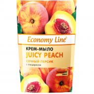 Крем-мыло Economy Line Juicy Peach, 460 мл