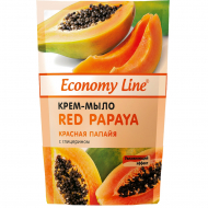 Крем-мыло Economy Line Red Papaya, 460 мл