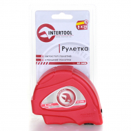 Рулетка Intertool автостоп+тормоз 8м*25мм (МТ-0408)
