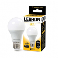Лампа LED Lebron L-A60 10W Е27 4100K