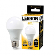 Лампа LED Lebron L-A60 10W Е27 3000K