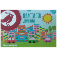 Пластилин Auchan Red Bird, 8 цветов
