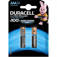 Щелочные батарейки Duracell Ultra Power AАA, 1,5В, LR6, 2 шт.