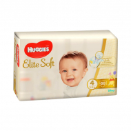 Подгузники Huggies Elite Soft 4, 8-14кг, 66 шт.