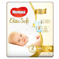 Подгузники Huggies Elite Soft 2, 4-6 кг, 88 шт.