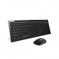 Комплект RAPOO 8200p Wireless Optical Mouse & Keyboard Black