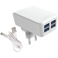 Адаптер LDINO 4 Port Home Apple Lightning Charger  4.2A
