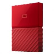 Жесткий диск Western Digital My Passport 1 TB Red (WDBYNN0010BRD)