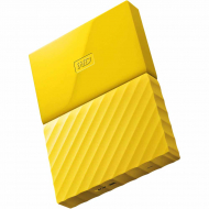 Жесткий диск Western Digital My Passport 1 TB Yellow (WDBYNN0010BYL)