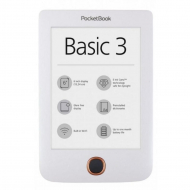 Электронная книга Pocketbook Basic 3 White (PB614-2-D-CIS)
