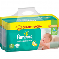 Подгузники Pampers Active Baby Dry Maxi, 106 шт.