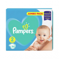 Подгузники Pampers New Baby 2, 4-8 кг, 94 шт.