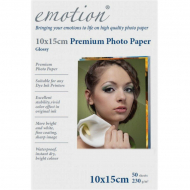 Фотобумага Emotion Premium Photo Paper А6, 50 л.