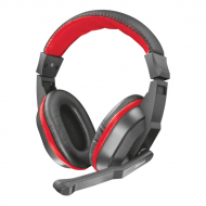 Наушники для ПК Trust Ziva Gaming Headset Black-Red