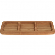 Менажница Excellent Houseware Bamboo 170426990, 25,5х10 см