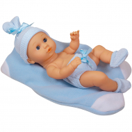 Пупс One Two Fun My Precious Newborn 891247, 35 см, голубой