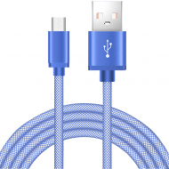 Кабель USB XoKo Fish SC-120m Blue