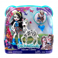 Кукла в наборе Enchantimals Zelena Zebra and Hoofette