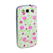 Чехол Diamond Silicone Samsung J100 (J1) Cath Kidston Wedding Flowers