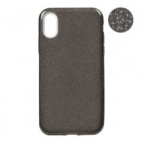 Чехол Remax Glitter Silicon Case iPhone X Black