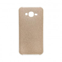 Чехол Remax Glitter Silicon Case Samsung J727 Gold