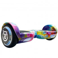 Гироборд Like.Bike X6i rainbow waves