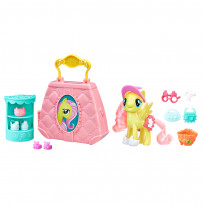Игровой набор My Little Pony: Fluttershy Purse Pet Care, 10 шт. (E0187EU4)