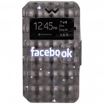Чехол Universal Book Cover 3D Facebook 4-4,5""