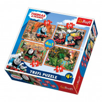 Пазлы Trefl Thomas&Friends 4-в-1