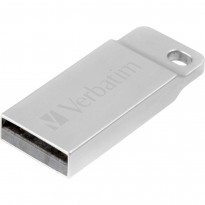 USB-флешка Verbatim Metal Executive Silver 2.0 16GB (98748)