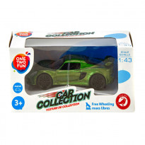 Автомобиль One Two Fun Car Collection, 1:43, зеленый