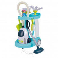 Набор для уборки детский One Two Fun My cleaning trolley with vacuum cleaner с пылесосом
