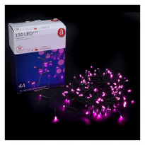 Гирлянда Actuel Flashing Lights розовая, 150 LED