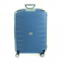 Чемодан Airport Roues Medium Azure синий, 4 колеса, 48,5x69x25,5 см